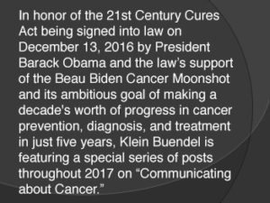 Communication About Cancer Series Info